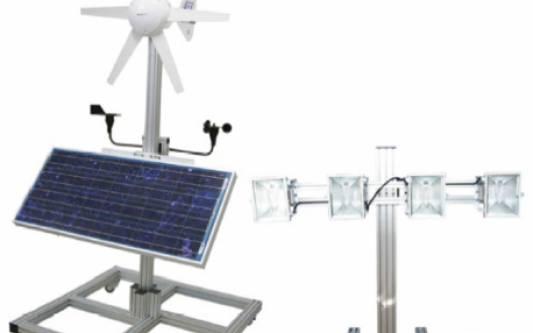 Ветровая и солнечная энергия